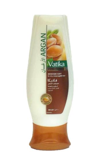Косметика и гигиена. Кондиционер для волос Vatika Argan Moisture Soft (мягкое увлажнение)(200 мл)