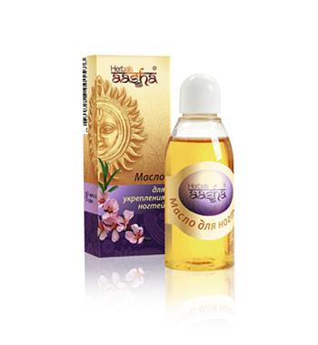 Косметика и гигиена. Масло для укрепления ногтей Herbals AASHA