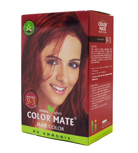 ��������� � �������. ������ ��� ����� Color Mate Hair Color (��� 9.3, ���������)
