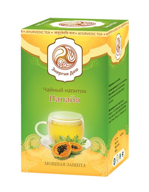 """Здоровое питание. Чайный напиток """"Папайя"""" (20 пак.)"""