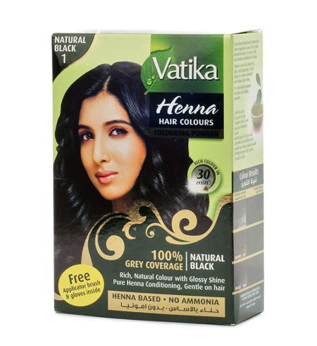 ��������� � �������. ��� ��� ������� ����� Vatika Henna Natural Black (������)
