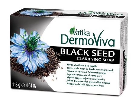 """Косметика и гигиена. Мыло """"Vatika DermoViva Naturals Black Seed"""""""
