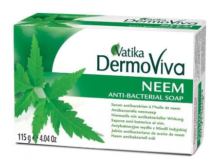 """Косметика и гигиена. Мыло """"Vatika DermoViva Naturals Neem"""""""