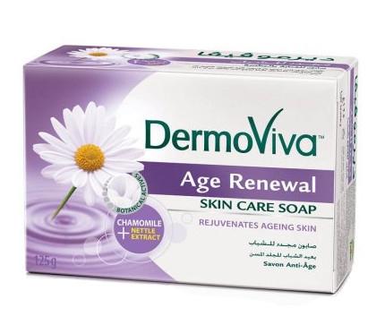 """Косметика и гигиена. Мыло """"Vatika DermoViva Naturals Age Renewal"""""""