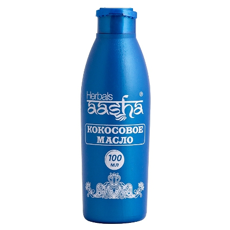 Косметика и гигиена. Кокосовое масло Herbals AASHA (100 мл)