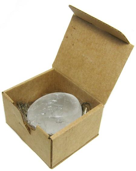Косметика и гигиена. Дезодорант-кристалл Алунит макси (120 г) в подарочной эко-коробочке