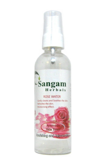 Косметика и гигиена. Розовая вода Sangam Herbals