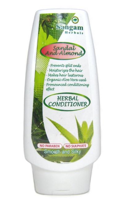 Косметика и гигиена. Кондиционер для волос Sangam Herbals (Sandal and Almond)