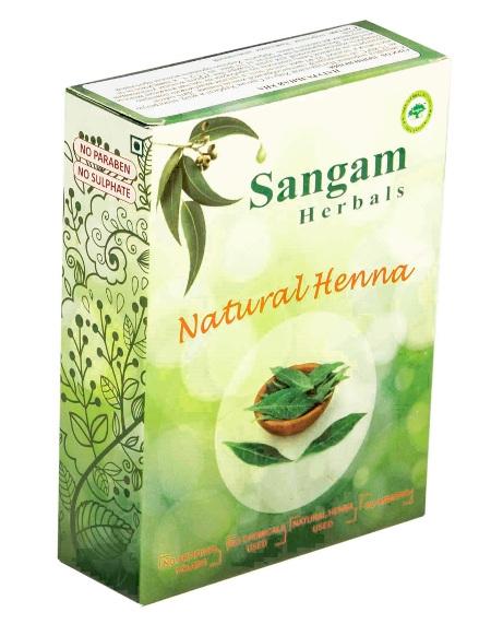 Косметика и гигиена. Натуральная хна Sangam Herbals