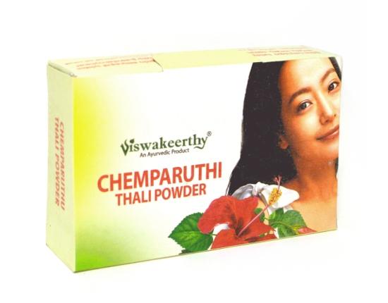 Косметика и гигиена. Шампунь травяной сухой Chemparuthi Thali Powder