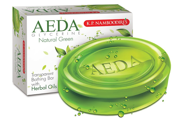 Косметика и гигиена. Аюрведическое мыло K. P. Namboodiris Natural Green