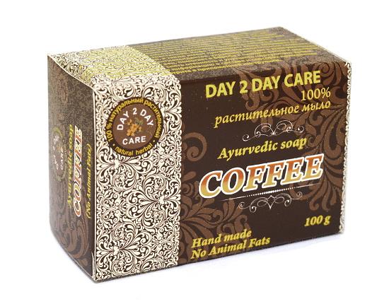"Косметика и гигиена. Мыло ""Day 2 Day Care"" Кофе"