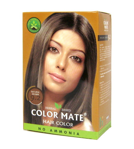 Косметика и гигиена. Краска для волос Color Mate Hair Color (тон 9.2, натуральный коричневый)
