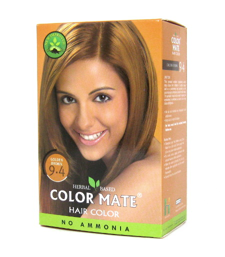 Косметика и гигиена. Краска для волос Color Mate Hair Color (тон 9.4, золотисто-коричневый)