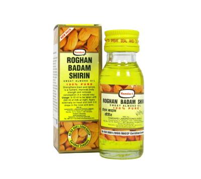 Средство оздоровления. Масло сладкого миндаля Roghan Badam Shirin (25 мл)