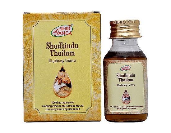 Средство оздоровления. Шадбинду Тайлам (Shadbindu Tailam) 50 мл