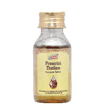 Средство оздоровления. Прасарини Тайлам (Prasarini Thailam) 50 мл