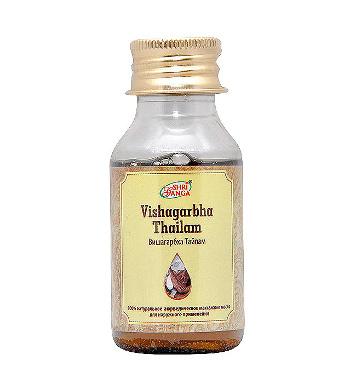 Средство оздоровления. Вишагарбха Тайлам (Vishagarbha Tailam) 50 мл