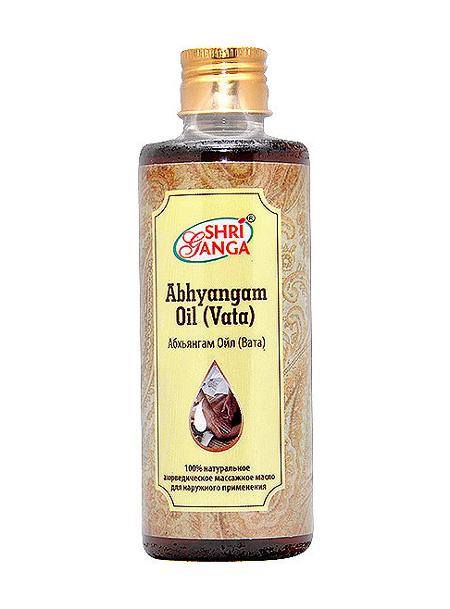 Средство оздоровления. Абхьянгам Ойл (Вата) / Abhyangam Oil (Vata)