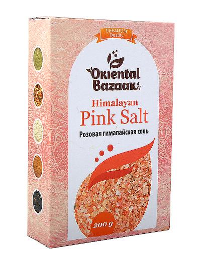 Здоровое питание. Розовая гималайская соль (200 г)