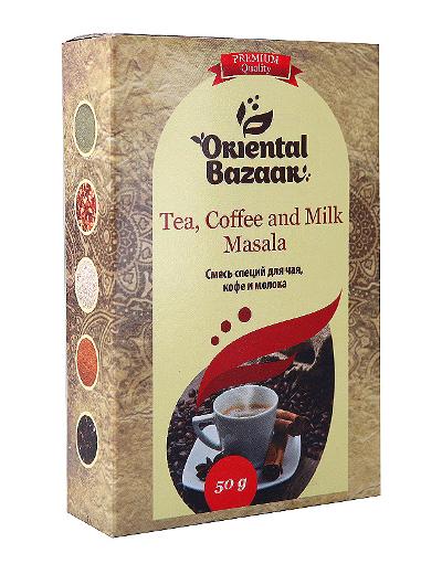 Здоровое питание. Смесь специй для чая, кофе и молока (Tea, Coffee and Milk Masala)