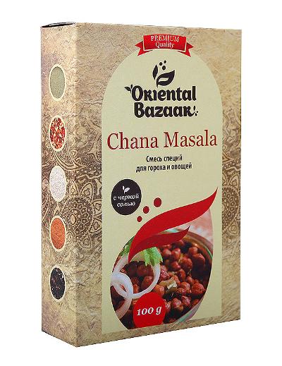 Здоровое питание. Смесь специй для гороха и овощей (Chana Masala)