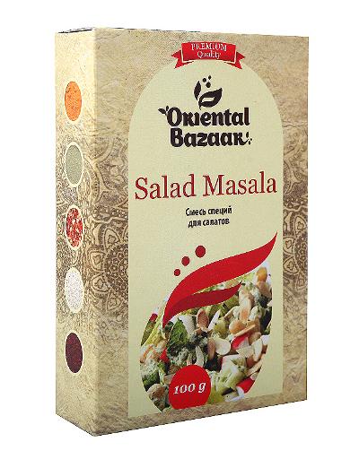 Здоровое питание. Смесь специй для салатов (Salad Masala)