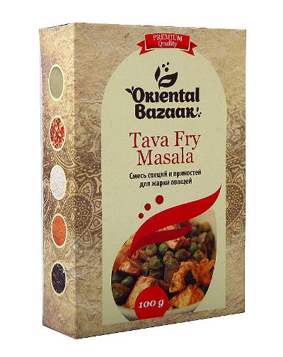 Здоровое питание. Смесь специй и пряностей для жарки овощей (Tava Fry Masala)