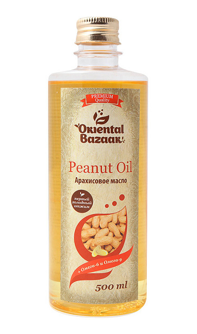 Средство оздоровления. Арахисовое масло (Peanut Oil) 500 мл