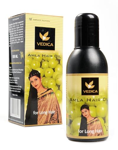 Косметика и гигиена. Масло для волос Амла Vedica (Amla Hair Oil)