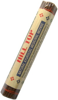 Благовоние Hill Top (Natural Ayurvedic Medicinal Incense, малое), 24 палочки по 14,5 см.